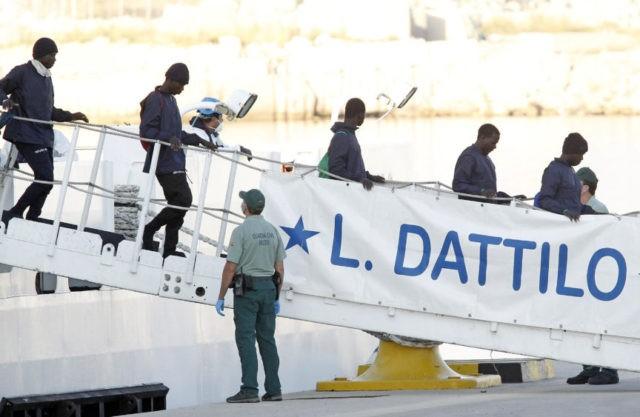 Sea convoy reaches Spain as migration debate roils Europe