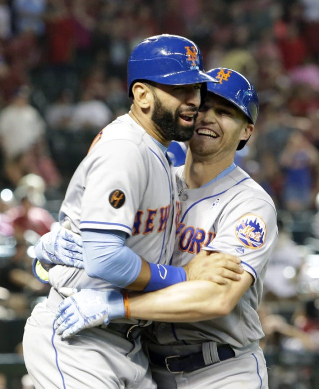 Nimmo, Cabrera hit HRs in 9th, rally Mets past D-backs 5-3