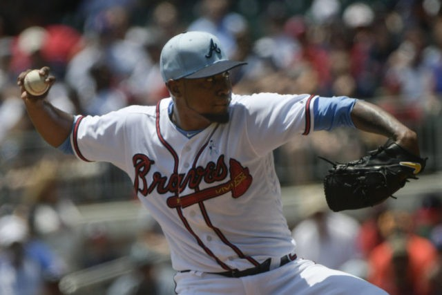 Braves no-hit bid ends in 7th after Teheran pulled vs Padres