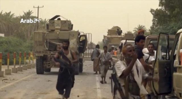 Witnesses: Coalition strikes airport in Yemen's Hodeida