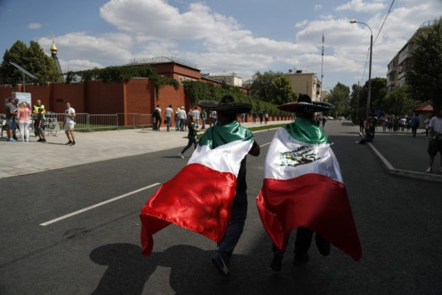 The Latest: Mexico fans to modify chants to avoid sanctions