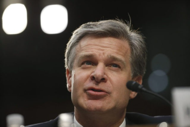 Christopher Wray, Michael Horowitz