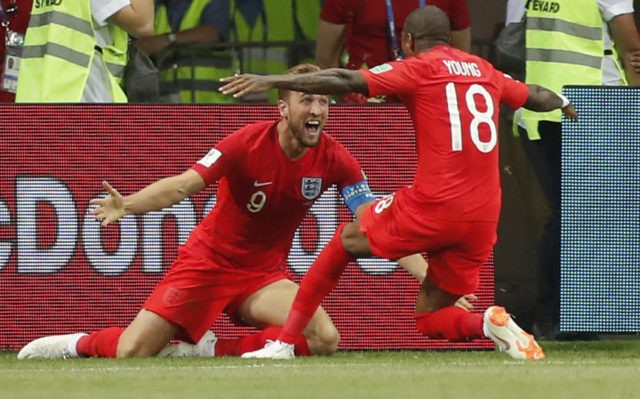 Late header from Kane gives England 2-1 win over Tunisia