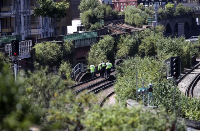 British police: 3 men struck dead by train in south London