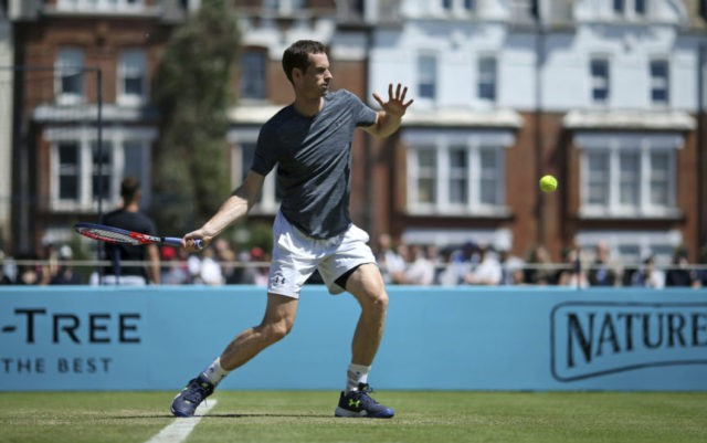 Murray excited to end 11-month absence at Queen's this week
