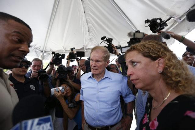 Bill Nelson, Debbie Wasserman Schultz