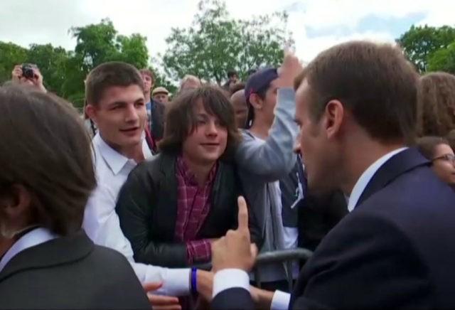 France's Macron tells teenager: Call me 'monsieur'
