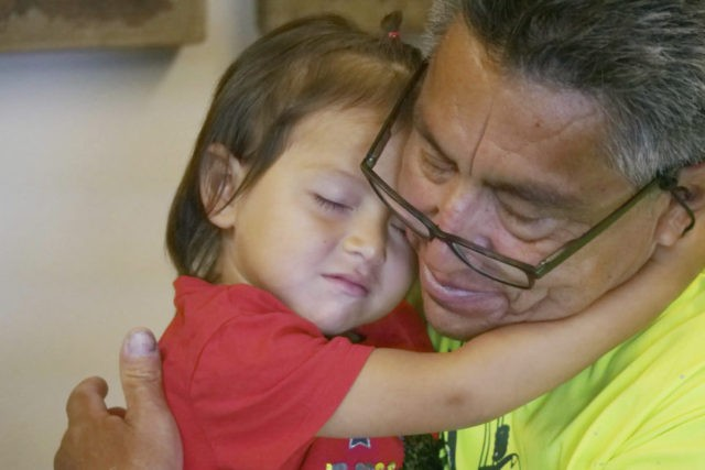 Guatemalan man recounts anguish of separation from toddler