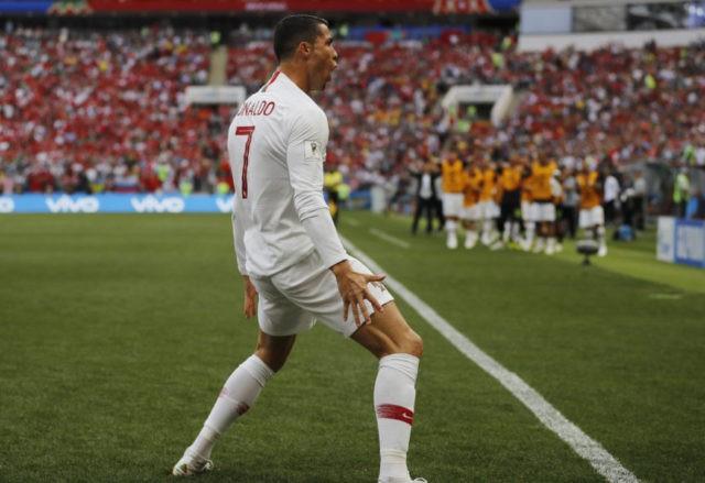 Ronaldo scores in Portugal's 1-0 win, Morocco eliminated