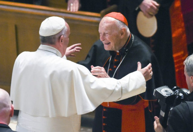 Cardinal Theodore McCarrick punished over abuse finding