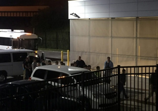 Over 100 arrested in immigration raid at meatpacking plant