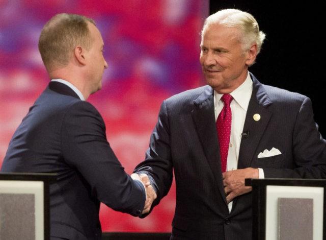 Trump plays central role in South Carolina governor debate