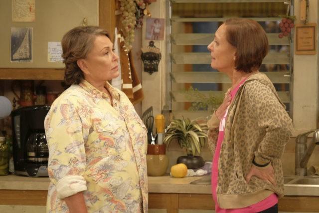 Roseanne Barr, Laurie Metcalf