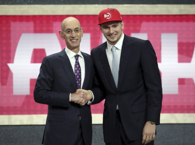 Mavs go Euro with rebuild again, trading up for Luka Doncic
