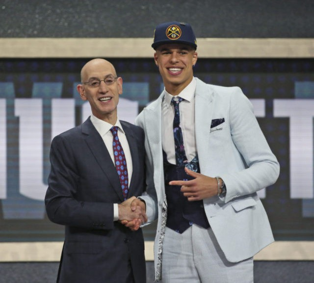 The Latest: Porter's wait ends, Nuggets take him at No. 14