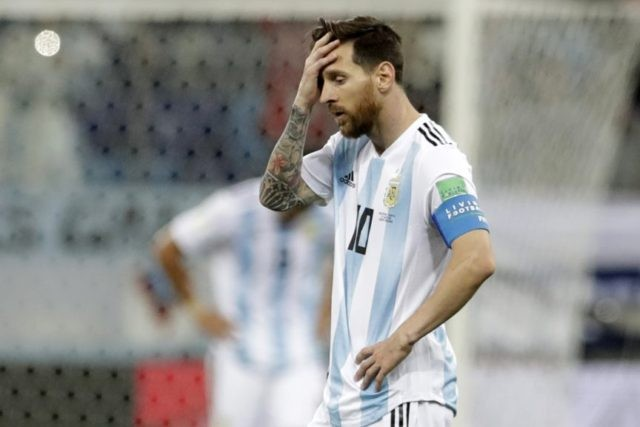 Messi, Argentina beaten 3-0 at World Cup, Croatia advances