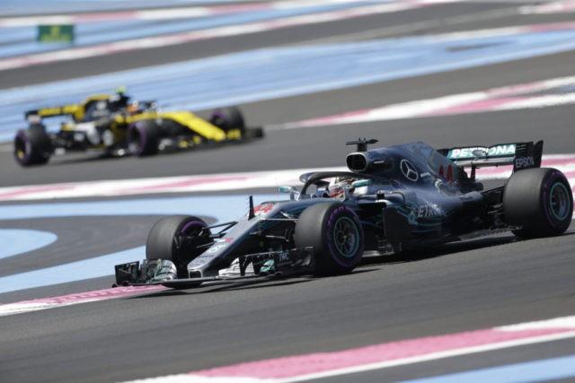 Hamilton, Bottas fastest during 1st French GP practice