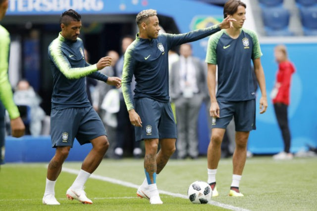 Brazil and Neymar try to bounce back from World Cup draw