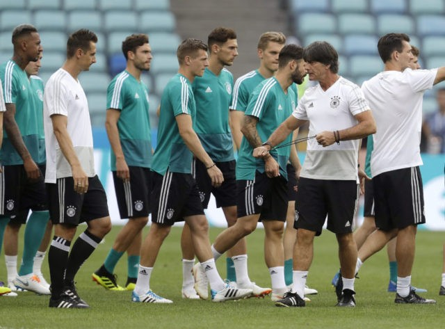 Germany on the ropes as it faces Sweden in World Cup