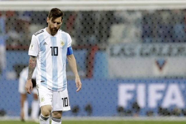 Messi needs to dig deep to end Argentina's woes at World Cup