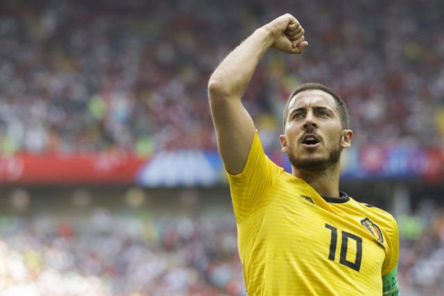 Belgium looks best yet at World Cup in 5-2 rout of Tunisia