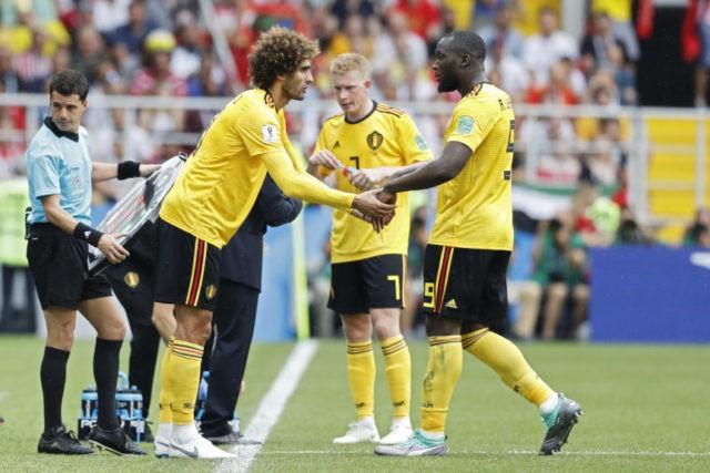 The Latest: Lukaku, Hazard get 2 each in Belgium's 5-2 win