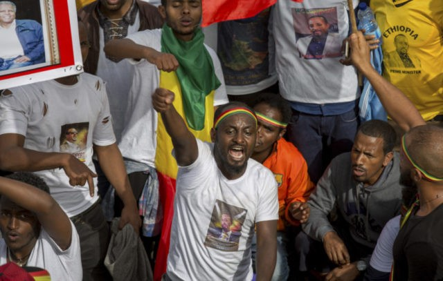 The Latest: 1st confirmed death after Ethiopia rally blast