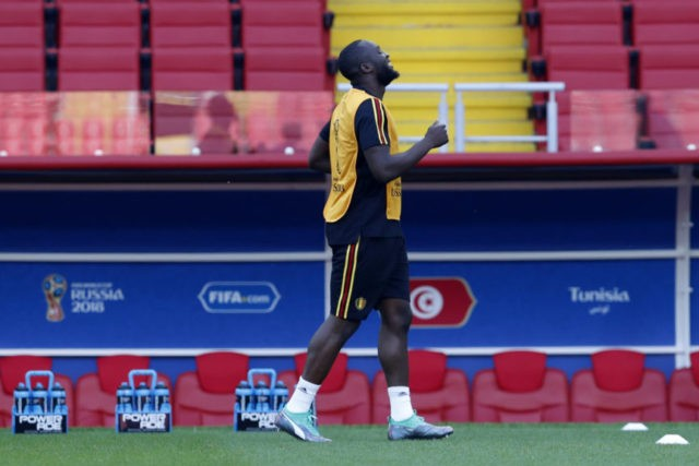 The Latest: Belgium takes unchanged lineup into Tunisia game
