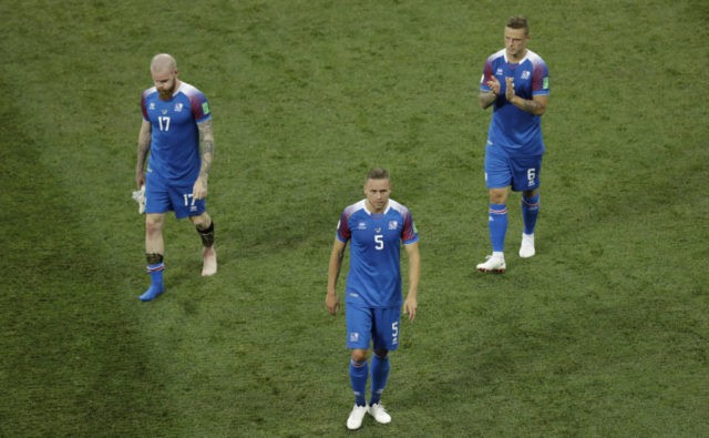 Seeing red: Iceland promises Croatia grueling group finish