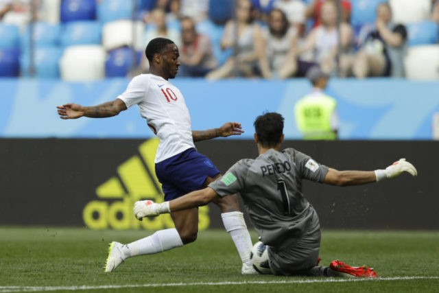 The Latest: England photo-gate fizzles as Sterling starts