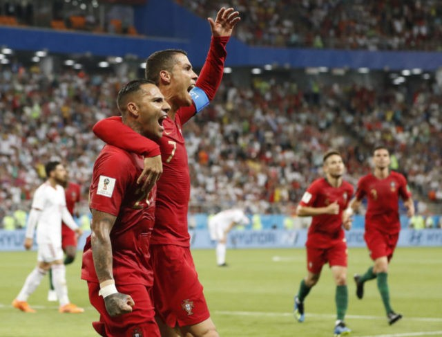 Ronaldo misses penalty, Portugal draws 1-1 with Iran