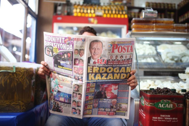 The Latest: Germany urges Turkey to end state of emergency