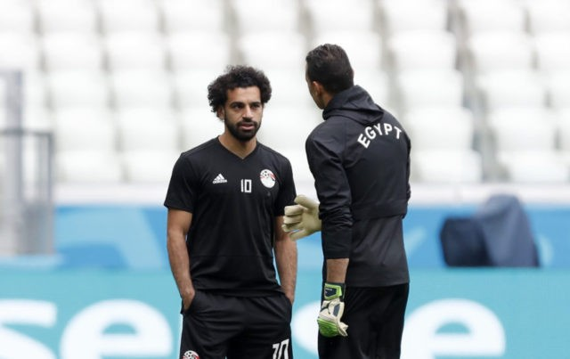 The Latest: El Hadary to set record, Salah to play for Egypt