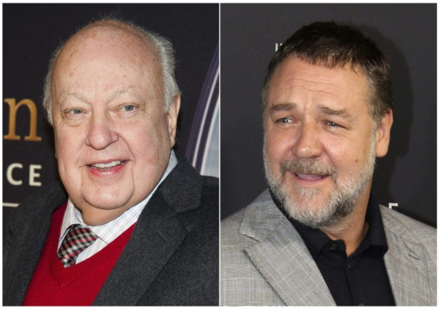 Russell Crowe will play Roger Ailes in new Showtime biopic