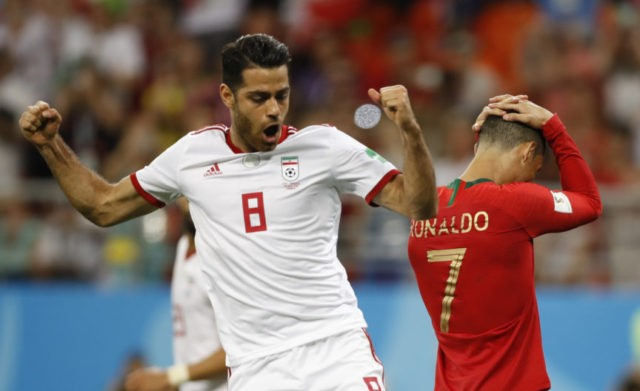 The Latest: 20 penalties already in 1st World Cup with VAR