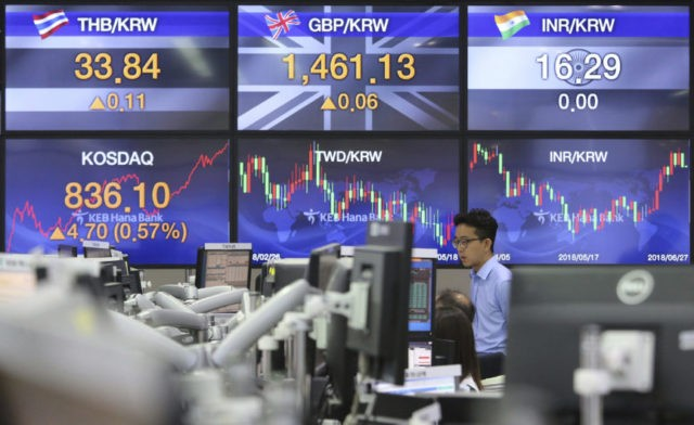 China leads Asian markets lower as trade concerns linger