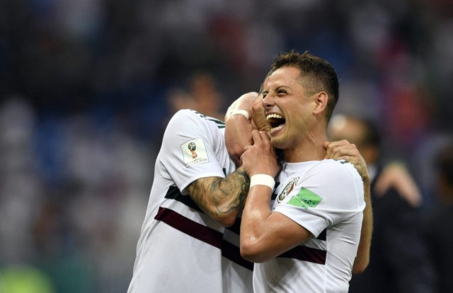 Hernandez, Mexico happy to be dreamers during World Cup