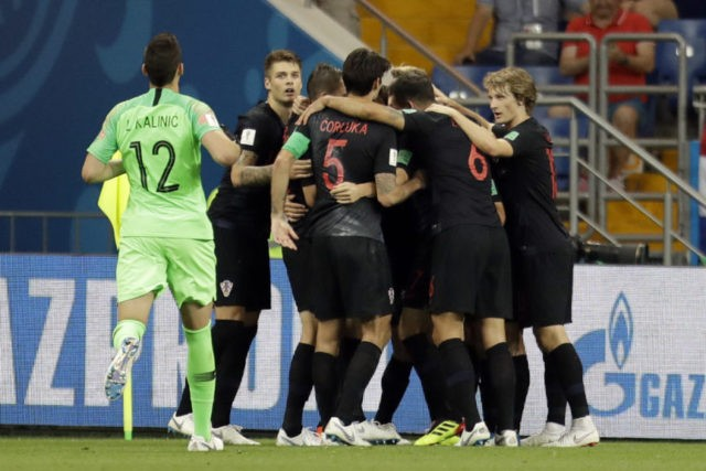 Croatia ends Iceland's chances at World Cup with 2-1 win