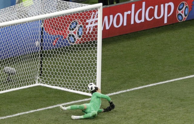 The Latest: Swiss advance after 2-2 draw with Costa Rica