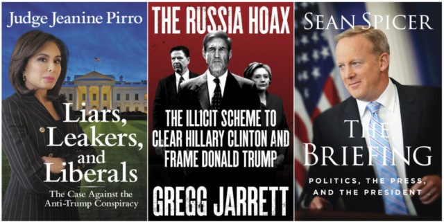 Wave of pro-Trump books coming in summer and fall