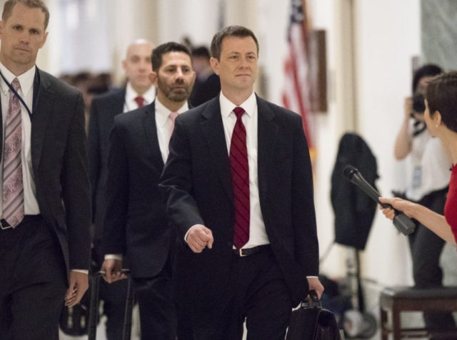 Peter Strzok, Paul Ryan, Kevin McCarthy