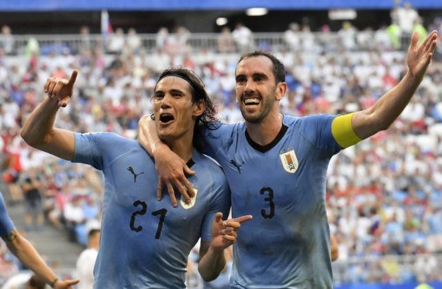 Portugal wary of Uruguay's defense, not only Suarez, Cavani