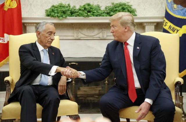 Donald Trump, Marcelo Rebelo de Sousa