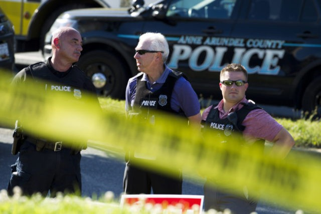 The Latest: Police: Newspaper shooting was 'targeted attack'