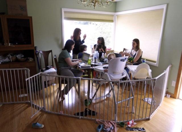 Kate Sharaf, Lisa Carol Stiller, Erin Conroy, Caely Barrett