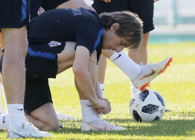 The Latest: Modric best Croatian player ever, says Rakitic