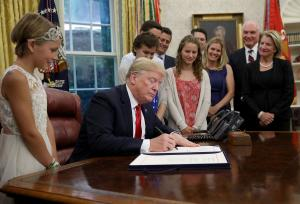 Trump signs VA Mission Act