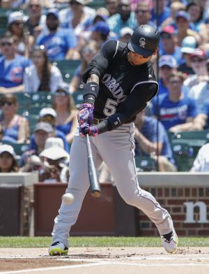 Rockies' Gonzalez hits longest homer in Statcast history at Cincy park