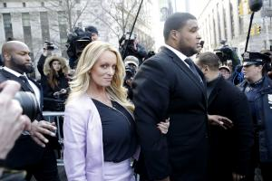 Stormy Daniels sues former lawyer for colluding with Trump attorney