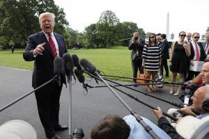 Trump endorses Senate's federal marijuana reform effort